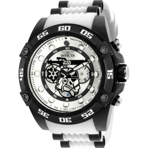 期間限定特別価格 腕時計 メンズ Chronograph インヴィクタ メンズ インビクタ Invicta 26068 Wars Star Wars Men