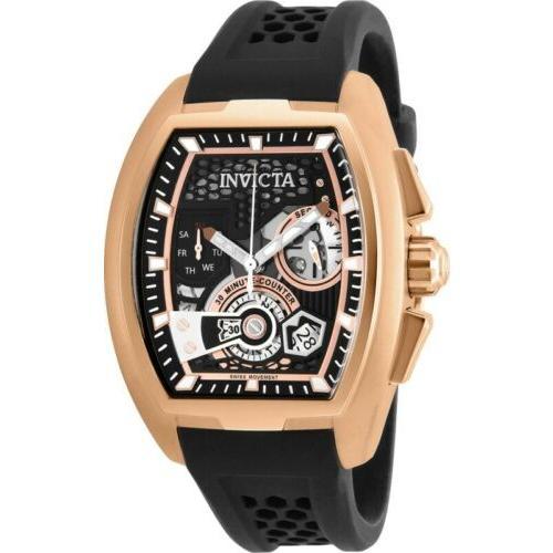 沸騰ブラドン 腕時計 メンズ インヴィクタ インビクタ Invicta 26400 S1 RallyDiablo Men's 42mm Chronograph Rose-Gold Tone Watch, キホクチョウ 81bd0498