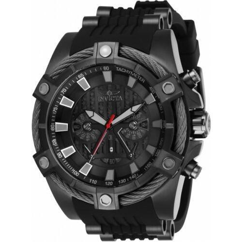 【保障できる】 腕時計 メンズ インヴィクタ インビクタ Invicta 27208 Star Wars Men's 52mm Chronograph Black-Tone Black Dial Watch, 黒木町 8bc8f3b7