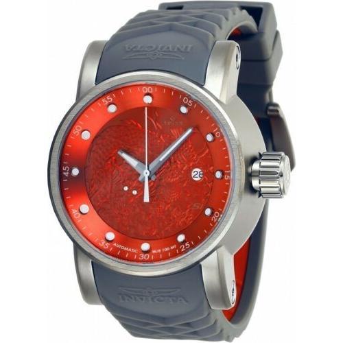 輝く高品質な 腕時計 メンズ インヴィクタ インビクタ Invicta 28184 S1 Rally Men's 48mm Automatic Titanium-Tone Red Dial Watch, ナチュラルコスメワールド 25dc8abd