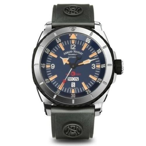 人気デザイナー 腕時計 メンズ Dial アルマンニコレ Watch Armand Nicolet A713MGN-BU-G9610 Men's S05 Men's Automatic 47mm Blue Dial Watch, ジュエリーセレクトショップ:c5b59153 --- airmodconsu.dominiotemporario.com