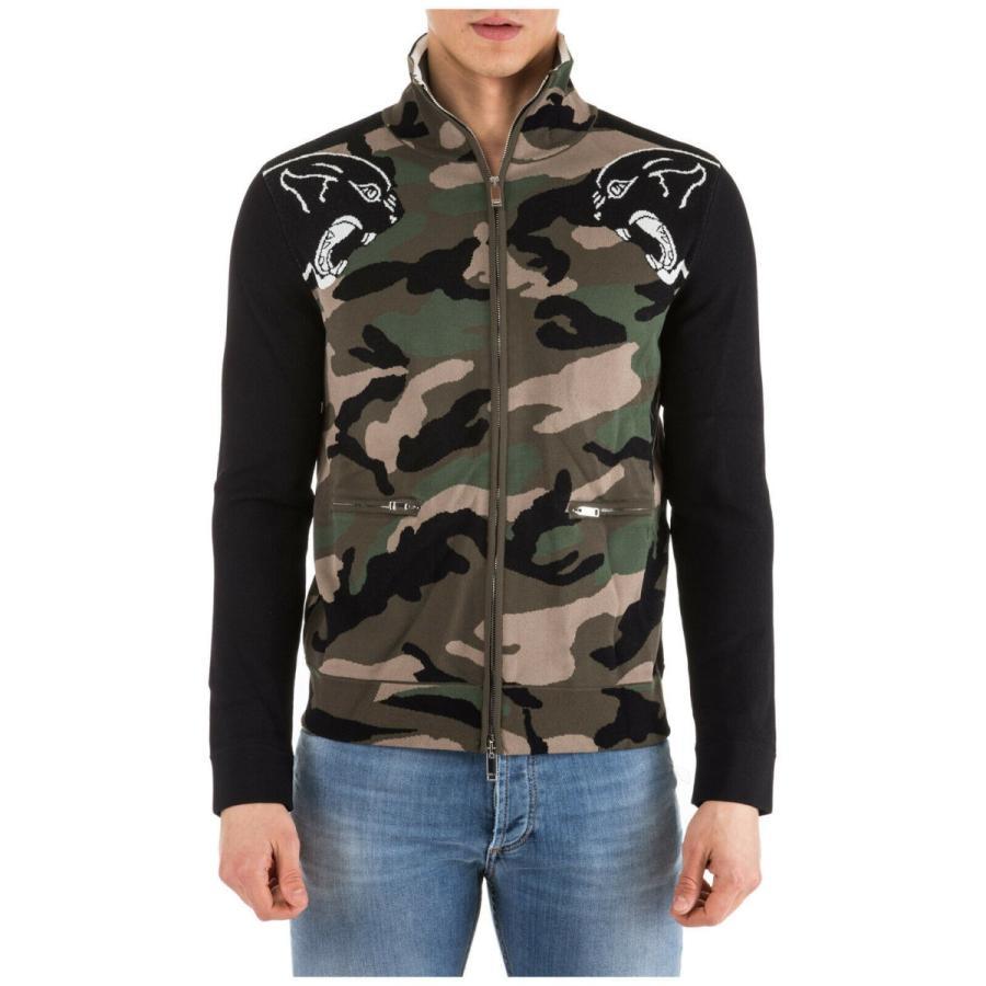 YUNY Men Long-Sleeve Hoodie Fashion Casual Camouflage Color Sweatshirts Green L