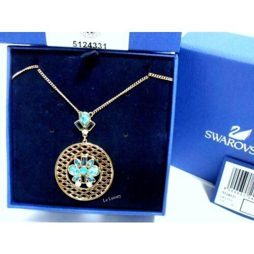売上実績NO.1 ネックレス スワロフスキー Swarovski Swarovski Cyan Cyan Pendant, Vintage blue crystal Vintage Authentic MIB 5124331, バレーボールHiQ:02d9c23b --- airmodconsu.dominiotemporario.com