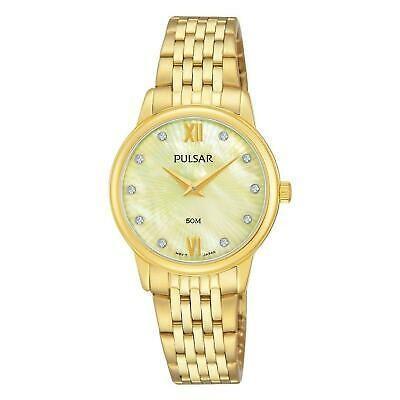 激安正規品 腕時計 パルサー レディース PULSAR WOMEN'S 28MM GOLD-TONE STEEL BRACELET & CASE QUARTZ ANALOG WATCH PM2206, PET KING 3fa6452a