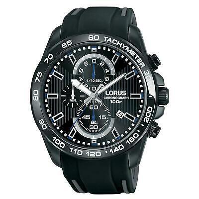 新発売の 腕時計 ローラス メンズ LORUS MEN'S 45MM BLACK SILICONE BAND STEEL CASE QUARTZ ANALOG WATCH RM385CX9, 柚子胡椒屋 福岡ふるさと便り 4ae51648