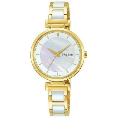 直営店に限定 腕時計 パルサー レディース PULSAR WOMEN'S 29MM TWO TONE STEEL BRACELET & CASE QUARTZ ANALOG WATCH PH8272, 機械屋-SOGABE 3ff870a1