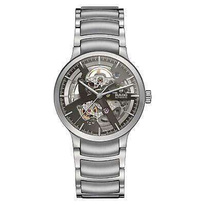 大人気新作 腕時計 ラドー メンズ Rado Men's Centrix 38mm Steel Bracelet & Case Automatic Analog Watch R30179113, きゃらや 50af46ca
