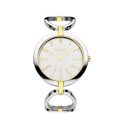 最安値 腕時計 ロダニア レディース RODANIA WOMEN'S STRADA MEGAN TWO TONE STEEL BRACELET QUARTZ WATCH 26139.81, 河津町 e5da87e2