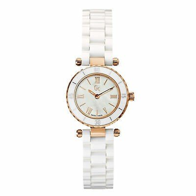 最も優遇 腕時計 ゲスコレクション レディース Guess Collection Women's 33mm White Ceramic Stainless Steel Case Watch X70011L1S, CRAFT HOUSE a63951e3
