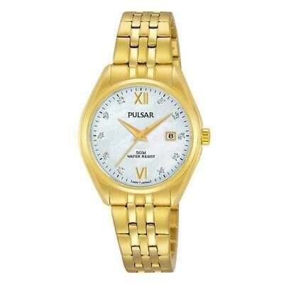 熱販売 腕時計 パルサー レディース PULSAR WOMEN'S 29MM GOLD-TONE STEEL BRACELET & CASE QUARTZ ANALOG WATCH PH7460, ホラドムラ 0cbaa329