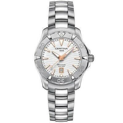 【正規品質保証】 腕時計 カリティナ レディース Certina Women's DS Action 34.3mm Steel Case Quartz Watch C032.251.11.011.01, ディアディア b7a0ea6e
