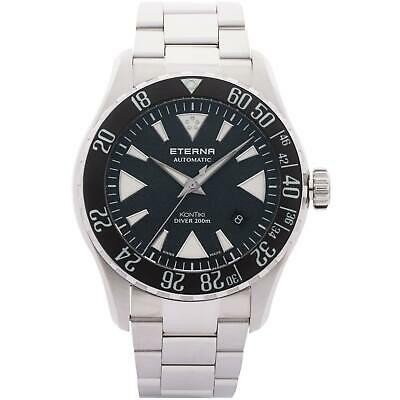 【60%OFF】 腕時計 エテルナ メンズ Eterna Men's 44mm KonTiki Diver 44mm Men's Bracelet Steel Bracelet Automatic Watch 1290-41-79-1753, ゴルフプラザセブンツー:95f91d5c --- airmodconsu.dominiotemporario.com