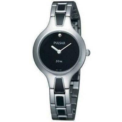 本物の 腕時計 パルサー レディース Pulsar Women's Multicolor Steel Bracelet & Case Mineral Glass Watch PTA469, イマジネットで! a963c333