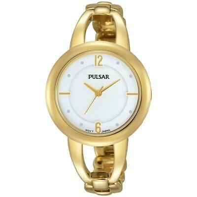 【限定品】 腕時計 パルサー レディース PULSAR WOMEN'S 33MM GOLD-TONE STEEL BRACELET & CASE QUARTZ ANALOG WATCH PH8206, TASUKARU 4e908b9e