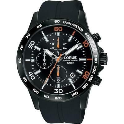 正式的 腕時計 ローラス メンズ LORUS MEN'S SPORTS 44MM SILICONE BAND IP STEEL CASE QUARTZ WATCH RM301DX9, 佐伯区 23e41294