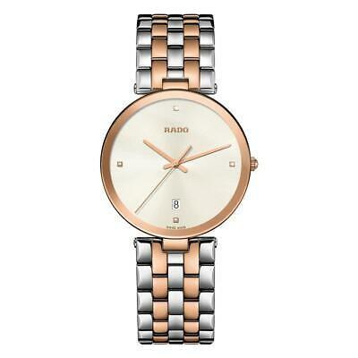 オープニング 大放出セール 腕時計 ラドー レディース RADO WOMEN'S FLORENCE 38MM TWO TONE STEEL BRACELET QUARTZ WATCH R48869733, ギフト内祝いの通販 Angel Gift 8cb7a3e8