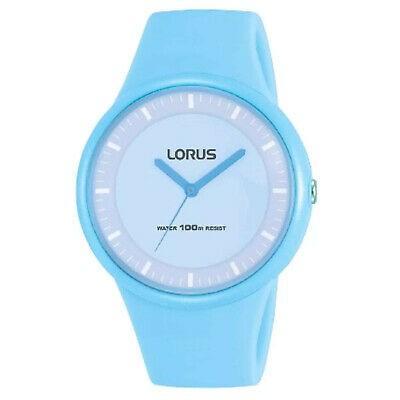 最前線の 腕時計 ローラス レディース Lorus Women's 38mm Blue Silicone Band Plastic Case Quartz Watch RRX21FX9, 北十二条書店 54e3307b