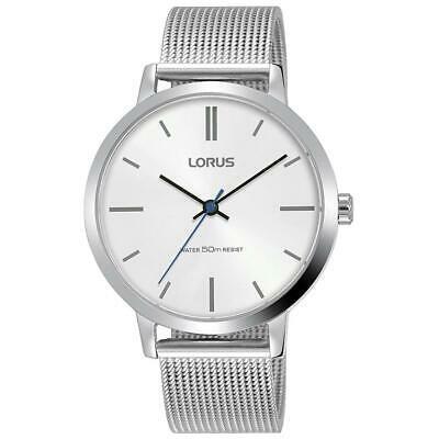日本最級 腕時計 ローラス レディース Lorus Women's 36mm Steel Bracelet & Case Quartz White Dial Watch RG263NX9, 市貝町 8115c46a