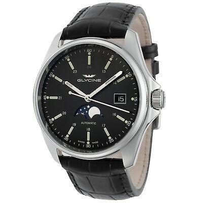 格安販売の 腕時計 グリシン メンズ Glycine Men's 3948.191.LBK9 Combat Classic Moonphase Automatic 40mm - GL0116, インテリア卸館@大阪せんば心斎橋 722b4560