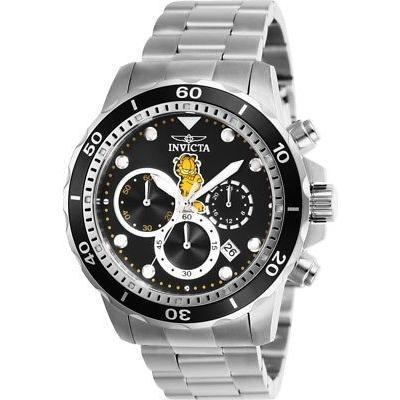 超話題新作 腕時計 インヴィクタ インビクタ メンズ Invicta 25145 Character Collection Men's 45mm Chronograph Stainless Steel Watch, アウトドアゾーン 9d73f662