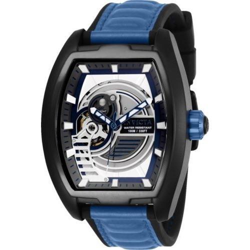 超美品 腕時計 インヴィクタ インビクタ メンズ Invicta 26890 S1 Rally Diablo Men's 42mm Automatic Black Steel Blue/White Dial, 本渡市 c0c7248e