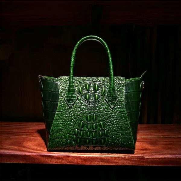 【爆売り!】 バッグ handbag ハンドバッグ レディース Luxury Genuine Embossed women
