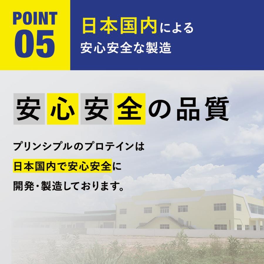 【メーカー本店】NIGHT RECOVERY PROTEIN(ナイト リカバリー プロテイン)450g ミルクティ風味 principle 08