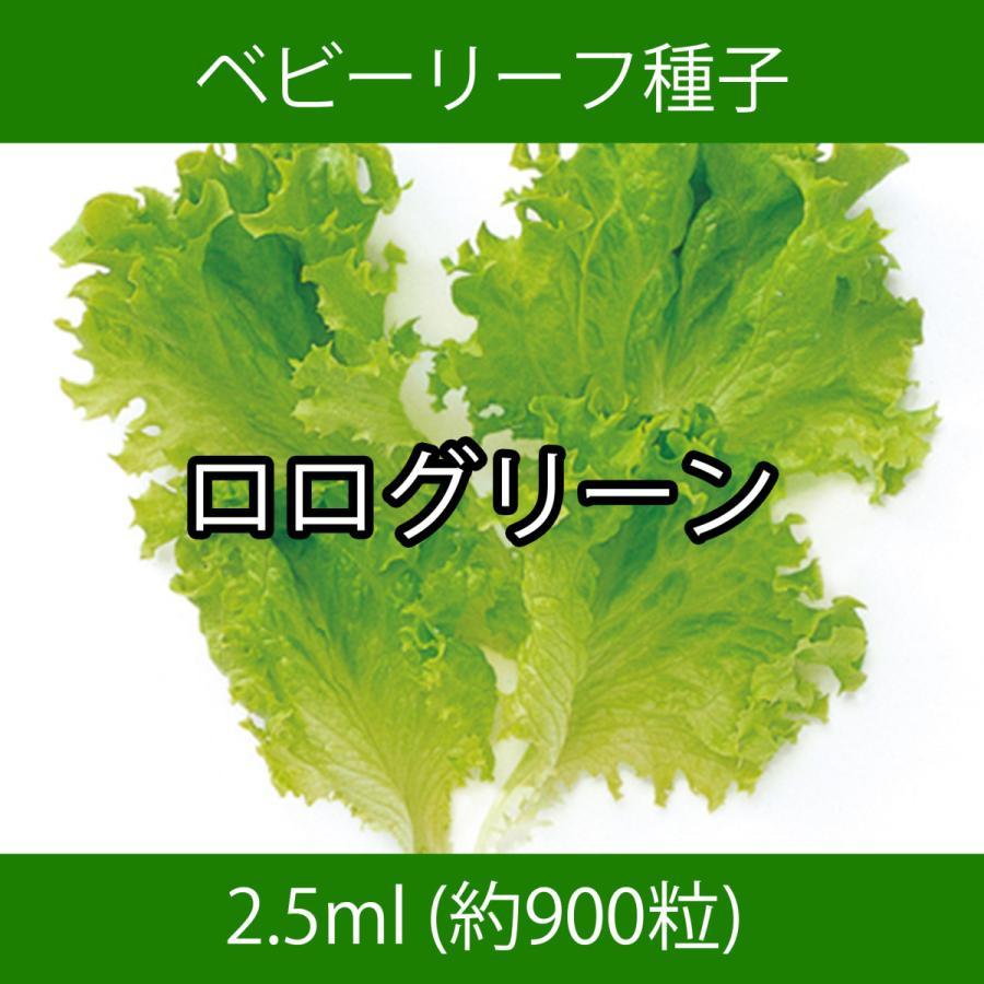 ベビーリーフ種子 B-09 ロログリーン 2.5ml|printstudio-jp