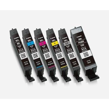 キヤノン(CANON) 純正インク BCI-381s+380s インクカートリッジ 6色セット(小容量) BCI-381s+380s/6MP|printus|02
