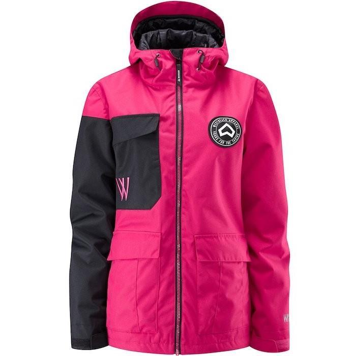 最安値!! 正規品 1819 WESTBEACH Flux Jacket Cherry ウエストビーチ レディース スノーウェア ジャケット スノーボードウェア 耐水 防水 暖かい 女性