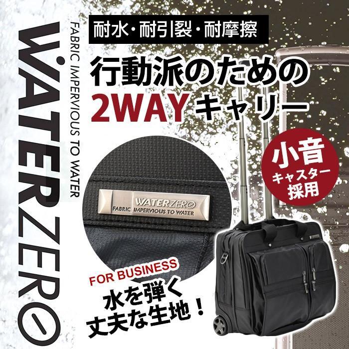 スーツケース 小型 機内持ち込み ソフト ソフトキャリー PC収納 旅行 A.L.I アジアラゲージ 2WAY ビジネスバッグ 耐水 WATER ZERO 出張 WTZ-5331 ブランド
