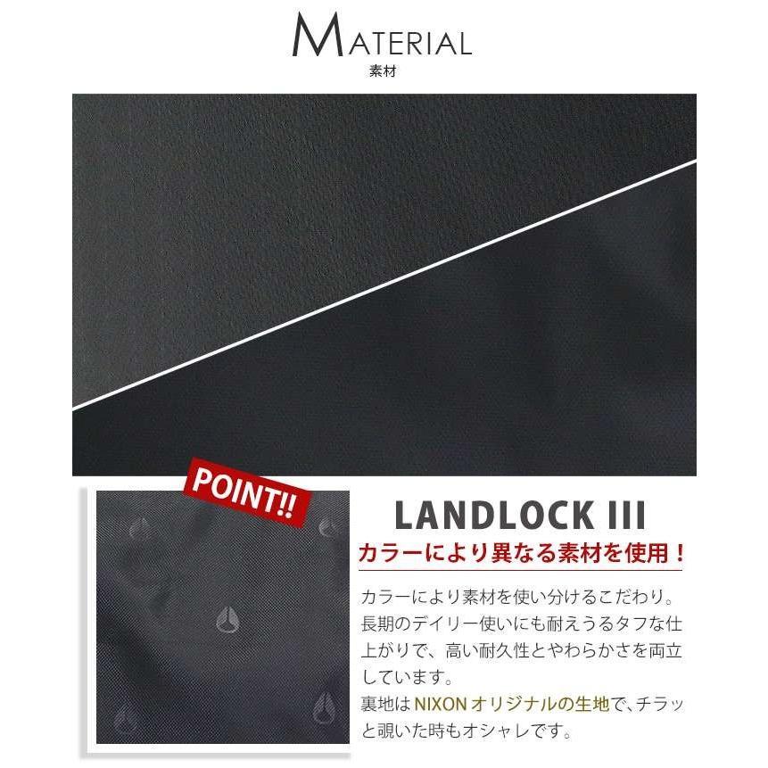 リュックサック NIXON ニクソン 大容量 デイパック LANDLOCK3 ランドロック3 バックパック リュック メンズ レディース ブランド 旅行 レジャー|pro-shop|19