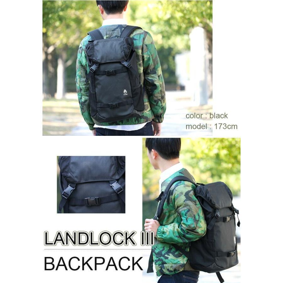 リュックサック NIXON ニクソン 大容量 デイパック LANDLOCK3 ランドロック3 バックパック リュック メンズ レディース ブランド 旅行 レジャー|pro-shop|03