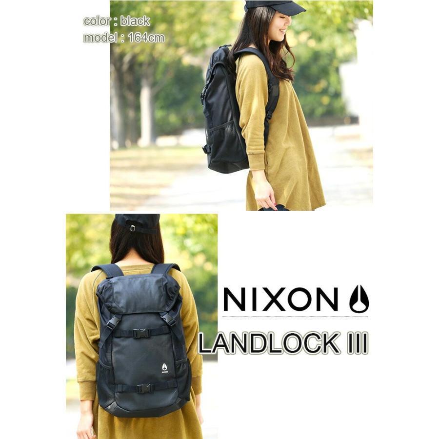 リュックサック NIXON ニクソン 大容量 デイパック LANDLOCK3 ランドロック3 バックパック リュック メンズ レディース ブランド 旅行 レジャー|pro-shop|04