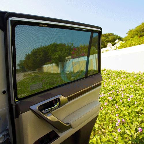 TOYOTA 80系NOAH VOXY トヨタ ノア・ヴォクシー・エスクァイアのサンシェード 日よけ レーザーシェード 運転席・助手席 2枚組セット PRO-TECTA|pro-tecta-shop|02