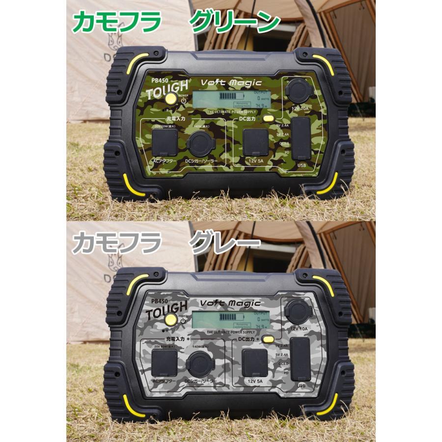 限定! ポータブル電源 PB450タフバッグセット(レビューでバッグ代0円) 車中泊 キャンプ  停電対策 大容量 バッテリー ボルトマジック ワイルド電源|pro-tecta-shop|18