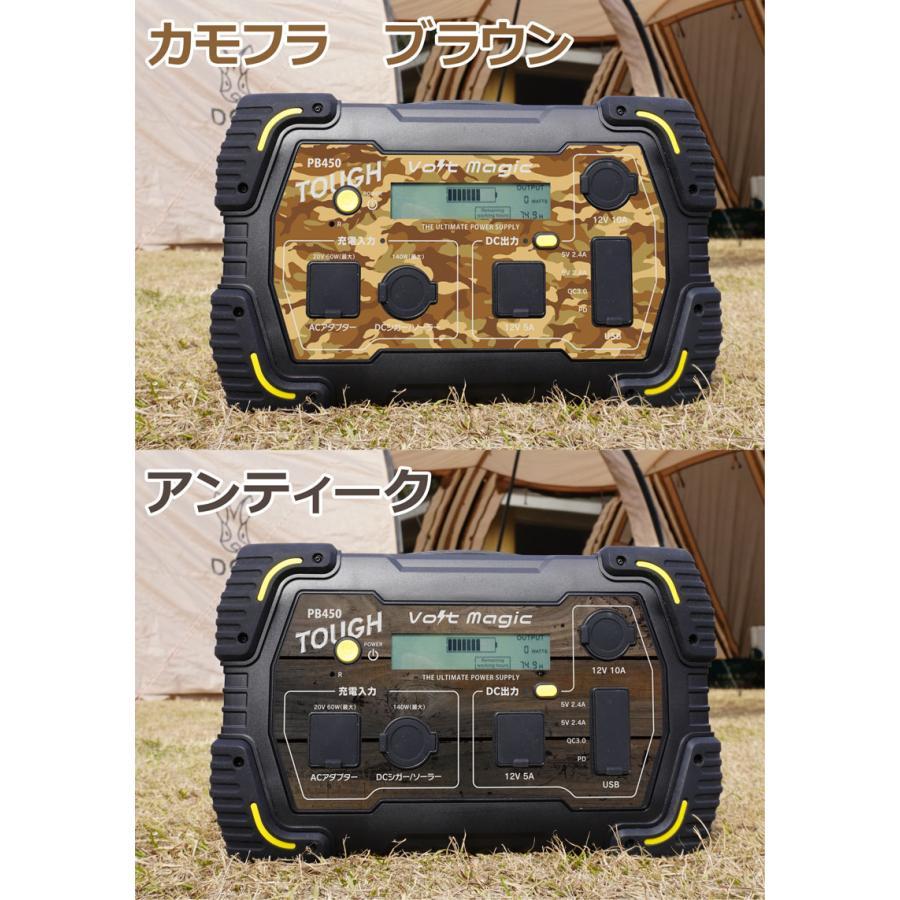 限定! ポータブル電源 PB450タフバッグセット(レビューでバッグ代0円) 車中泊 キャンプ  停電対策 大容量 バッテリー ボルトマジック ワイルド電源|pro-tecta-shop|19