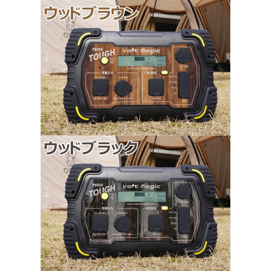 限定! ポータブル電源 PB450タフバッグセット(レビューでバッグ代0円) 車中泊 キャンプ  停電対策 大容量 バッテリー ボルトマジック ワイルド電源|pro-tecta-shop|20