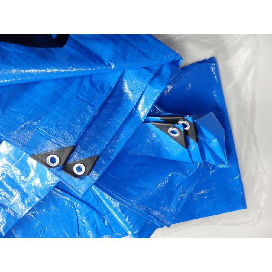 ブルーシート  3.6mx5.4m(2間×3間)厚手#3000コーナーガード付き|pro-yama|03