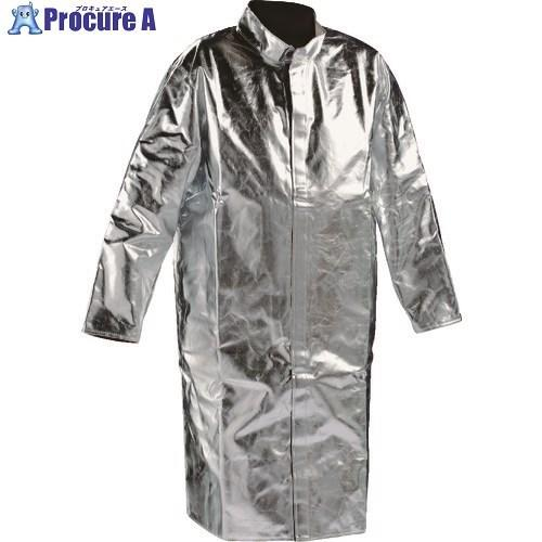 JUTEC 耐熱保護服 コート Mサイズ HSM120KA-2-48  ▼206-3505 JUTEC社