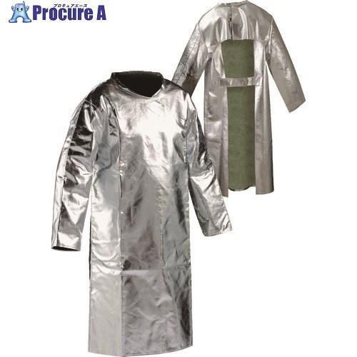 JUTEC 耐熱保護服 袖付エプロン XLサイズ HSFM120KA-2-56  ▼206-3510 JUTEC社