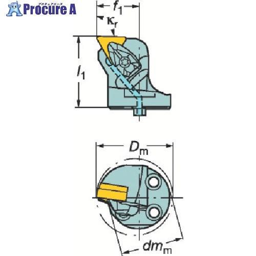 サンドビック コロターンSL コロターンRC用カッティングヘッド 570-DTFNL-32-16-L ▼251-5202 サンドビック(株)コロマントカンパニー