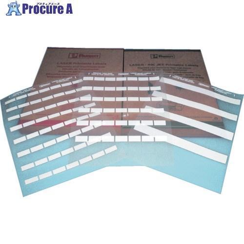 パンドウイット レーザープリンタ用セルフラミネートラベル 白S100X150YAJ ▼475-4824パンドウイットコーポレーション