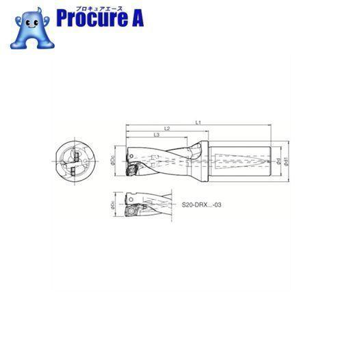 京セラ ドリル用ホルダS25-DRX160M-2-05 ▼648-8706京セラ(株)