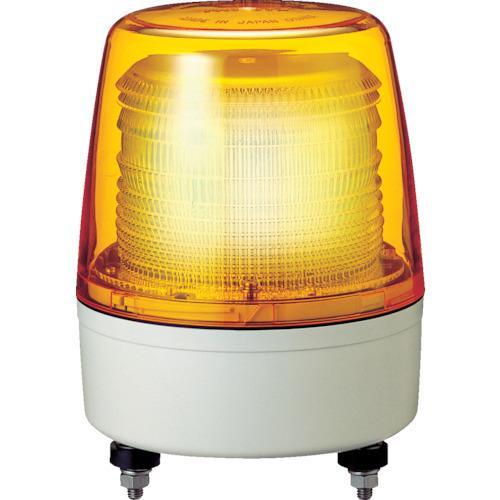 パトライト 中型LEDフラッシュ表示灯XPE-24-Y ▼751-5065(株)パトライト