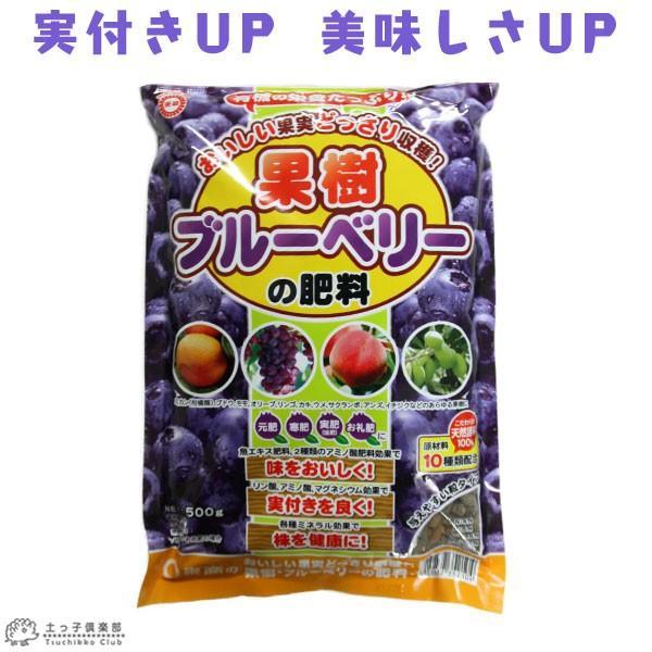 果樹・ブルーベリーの肥料 500g|produce87