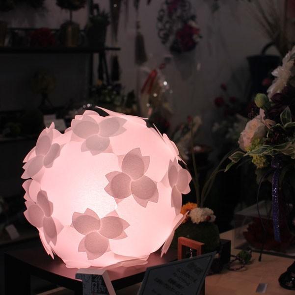 フロアライト テーブルランプ おしゃれ 照明器具 さくら色⇔電球色 LED電球付 本体組立出荷 - コハルライト|product-factory-jp|02