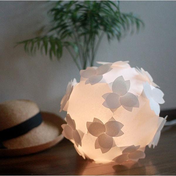 フロアライト テーブルランプ おしゃれ 照明器具 さくら色⇔電球色 LED電球付 本体組立出荷 - コハルライト|product-factory-jp|03
