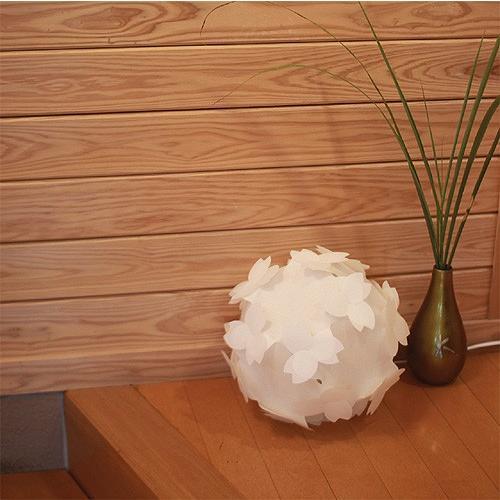 フロアライト テーブルランプ おしゃれ 照明器具 さくら色⇔電球色 LED電球付 本体組立出荷 - コハルライト|product-factory-jp|04