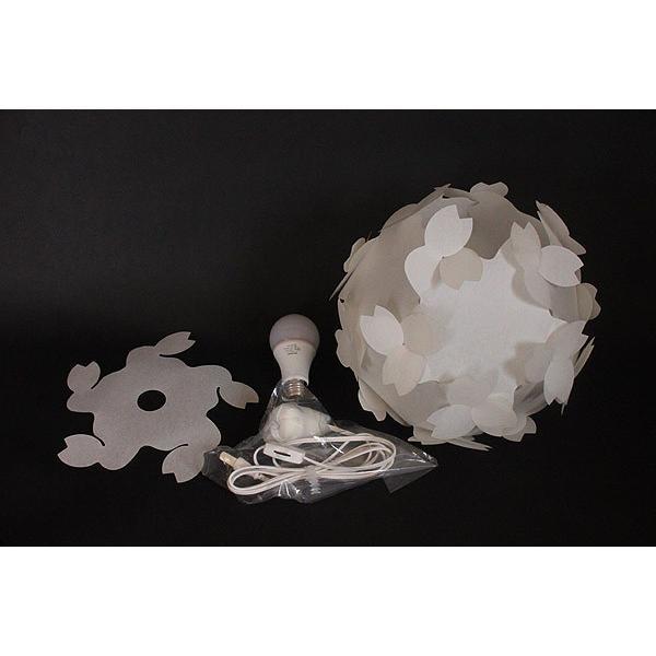 フロアライト テーブルランプ おしゃれ 照明器具 さくら色⇔電球色 LED電球付 本体組立出荷 - コハルライト|product-factory-jp|06